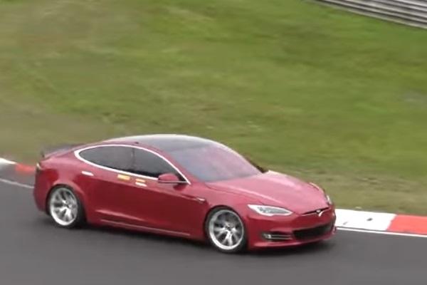 Tesla Model S Nürburgring Nordschleife