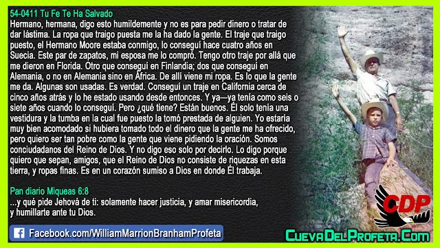 Un corazón sumiso a Dios - William Branham en Español