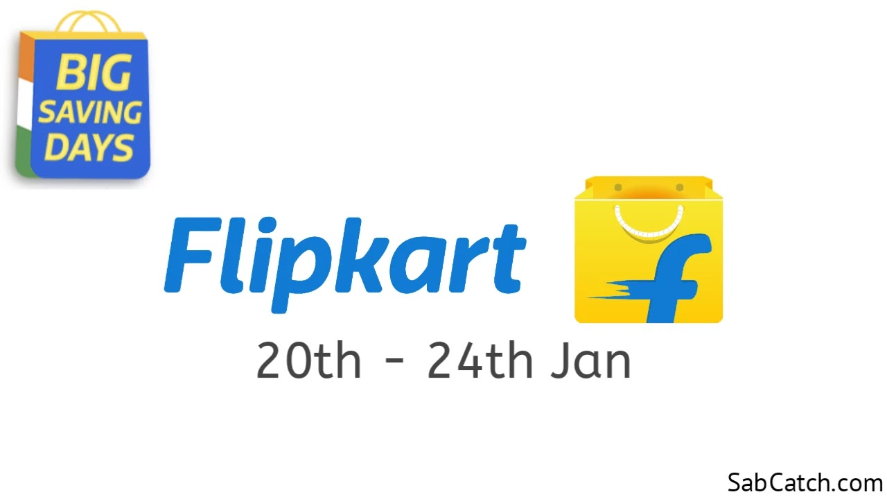 Flipkart Big Saving Days Sale | Today Is Live
