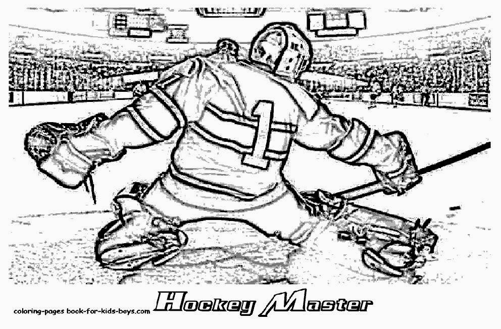 Hockey Nhl Coloring Pages - Free Coloring Pages | 652x992