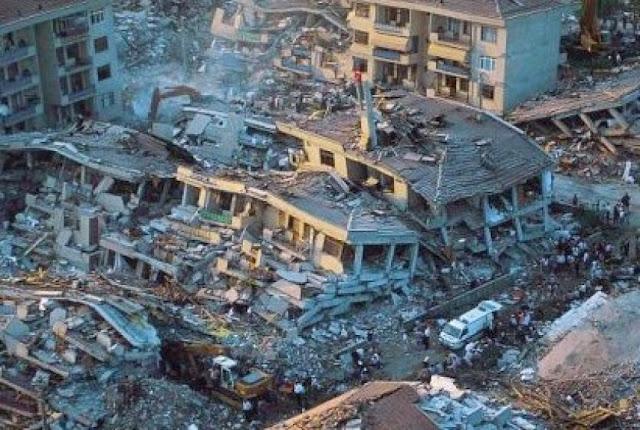 Ülkemizde Yaşanan En Büyük Depremler 510 Yıllık