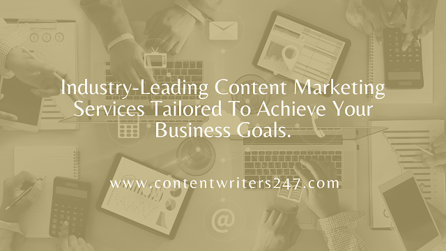 Content Marketing Services At Content Wrtiers 247