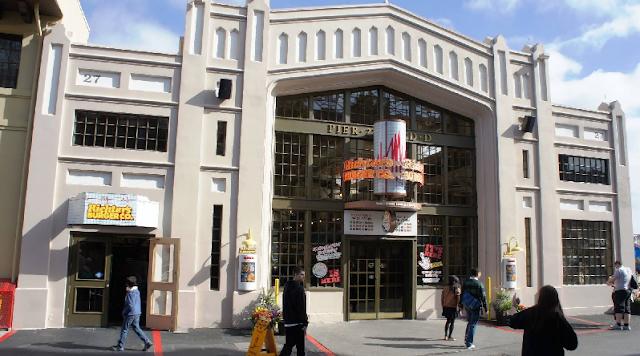 Restaurantes no San Francisco no Universal Studios em Orlando