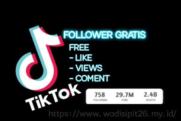 cara mendapatkan follower tiktok gratis menggunakan tools terbaru