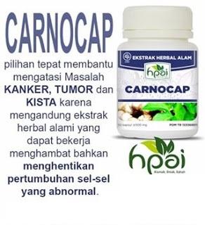 Obat Alami Kanker Tumor Carnocap Herbal hpai Tradisional