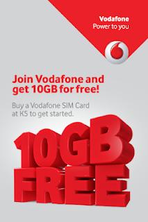 Vodafone App Offer – Get Free 1GB 3G/4G Data For 1 Months