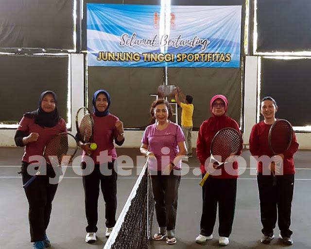 Endah Mutiara/Endah Atmala Zuni Melaju ke Final Kejuaraan Tenis Baveti Araya-Sier Surabaya Cup I tahun 2020