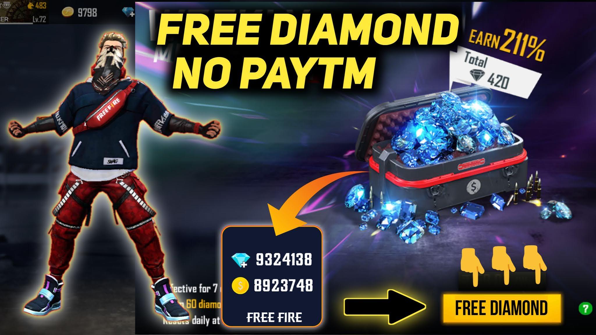 Free Fire Get 10000 Diamond Trick 2020