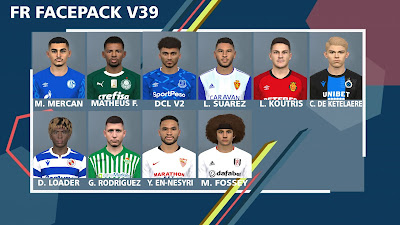 PES 2017 Facepack v39 by FR Facemaker
