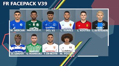 PES 2017 Facepack v39 by FR Facemaker