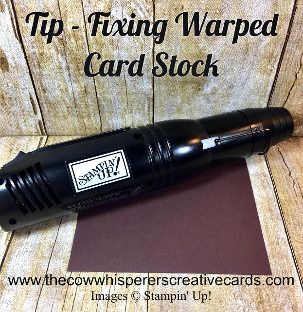 Tip, Warped Cardstock, Heat Tool, Video