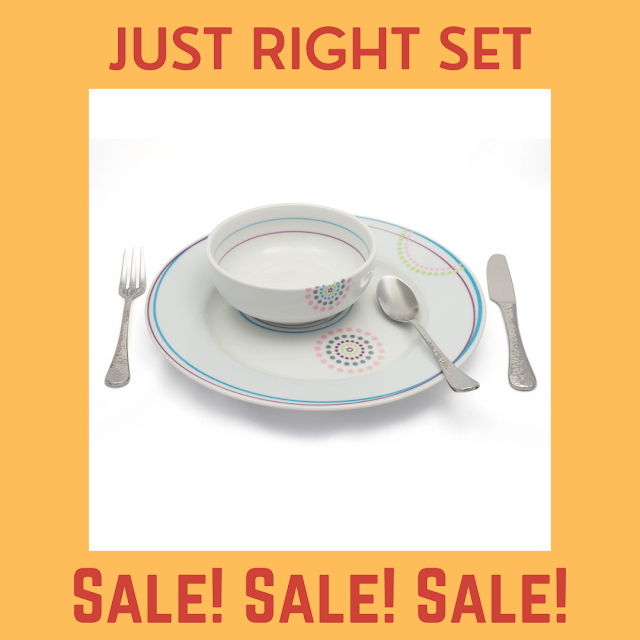 Just Right Set on sale now!