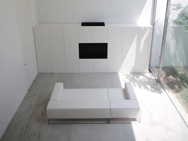 ห้องรับแขก Modern Minimalist