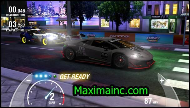 Racing Rivals MOD APK screenshot gameplay
