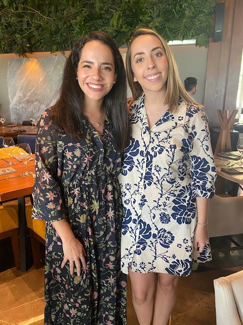 Alejandra Espinosa y Andrea Salcedo.