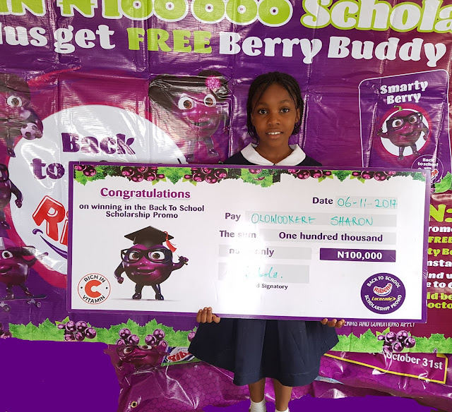 #Winning! More and more families emerge as winners in the ongoing Ribena Lucozade Back to School promo