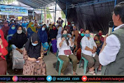 Suaib Mansur Disambut Puluhan Warga Salassa