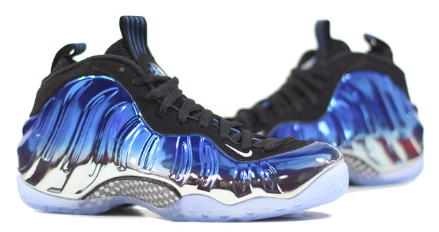 7a2b4204cb7 Sneaker Nerd: Nike Air Foamposite One Blue Mirror Release. Mirror Mirror on  the wall.