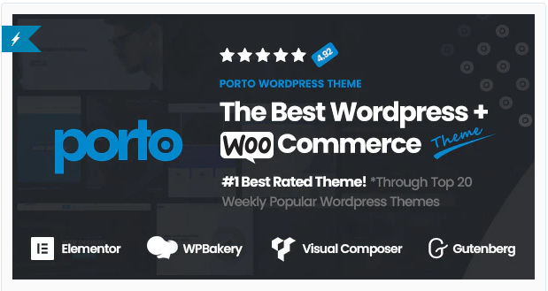 Porto | 15+ Best Multipurpose WooCommerce WordPress Themes
