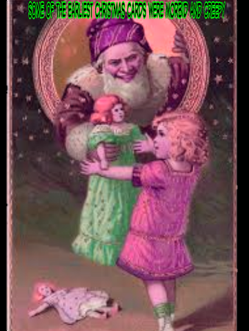 Some of the Earliest Christmas Cards Were Morbid and Creepy
