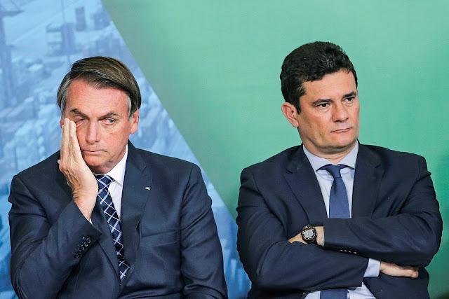 Sérgio Moro x Jair Bolsonaro - os motivos da cizânia