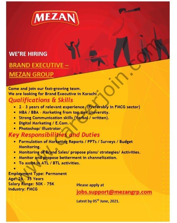 Mezan Group Jobs 2021 in Pakistan