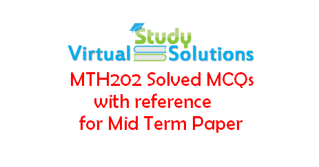 Cs507 final term solved papers with reference