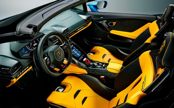 Interior Lamborghini Huracán EVO RWD Spyder