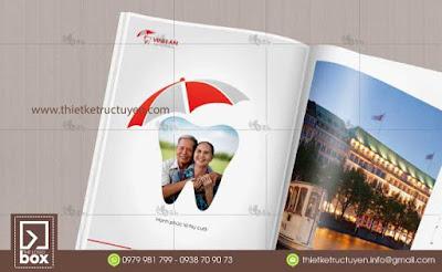 Thiết kế brochure nha khoa | Brochure phòng khám răng | brochure y tế