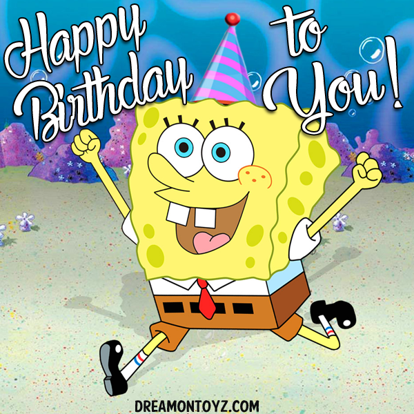 spongebob happy birthday wwwpixsharkcom images