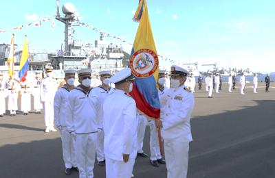 Colombian Navy Pohang Class Corvette ROKS Iksan (PCC-768)