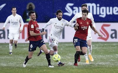 ريال مدريد ضد  اوساسونا