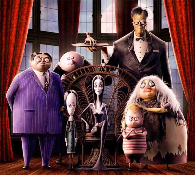 imagem da família no filme de 2019