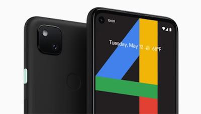 Layar dan Kamera Google Pixel 4A