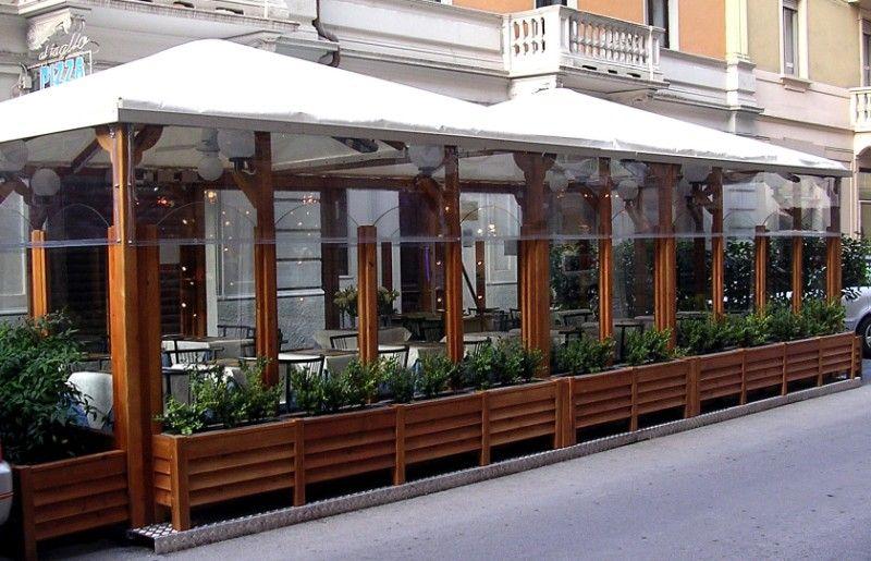 dehor tra arredo urbano ed utilit per bar e ristoranti