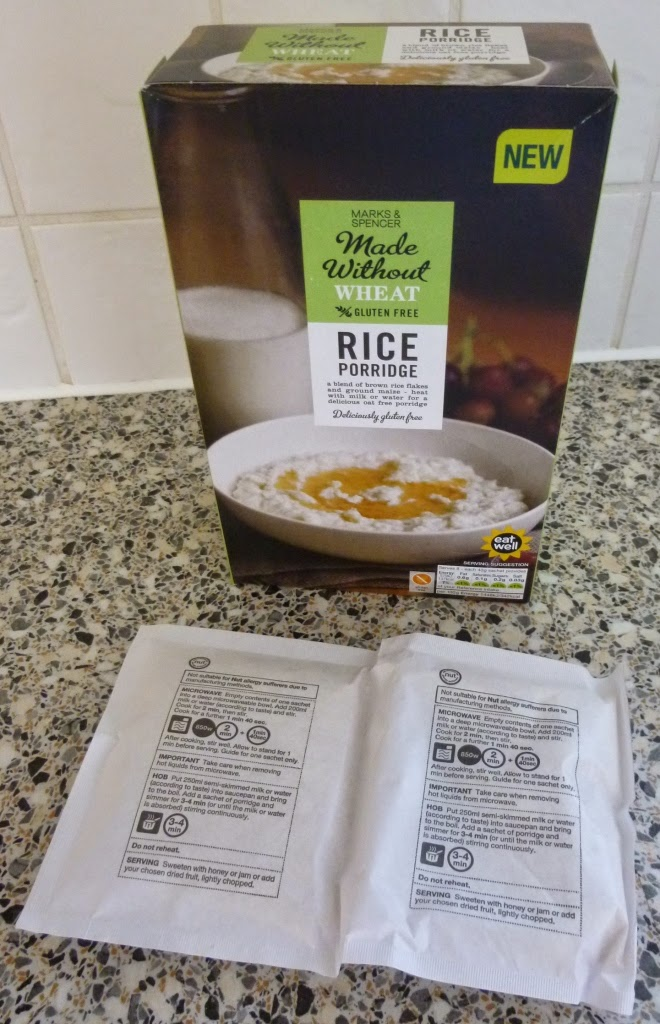 Made Without Wheat Rice Porridge from Marks and Spencer