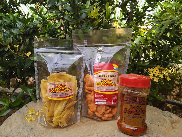produk umkm bengkulu aca kumala home industri ada snack dan sambal