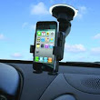15504 PANAVISE Car Mount PortaGrip maintains a strong grip on phones