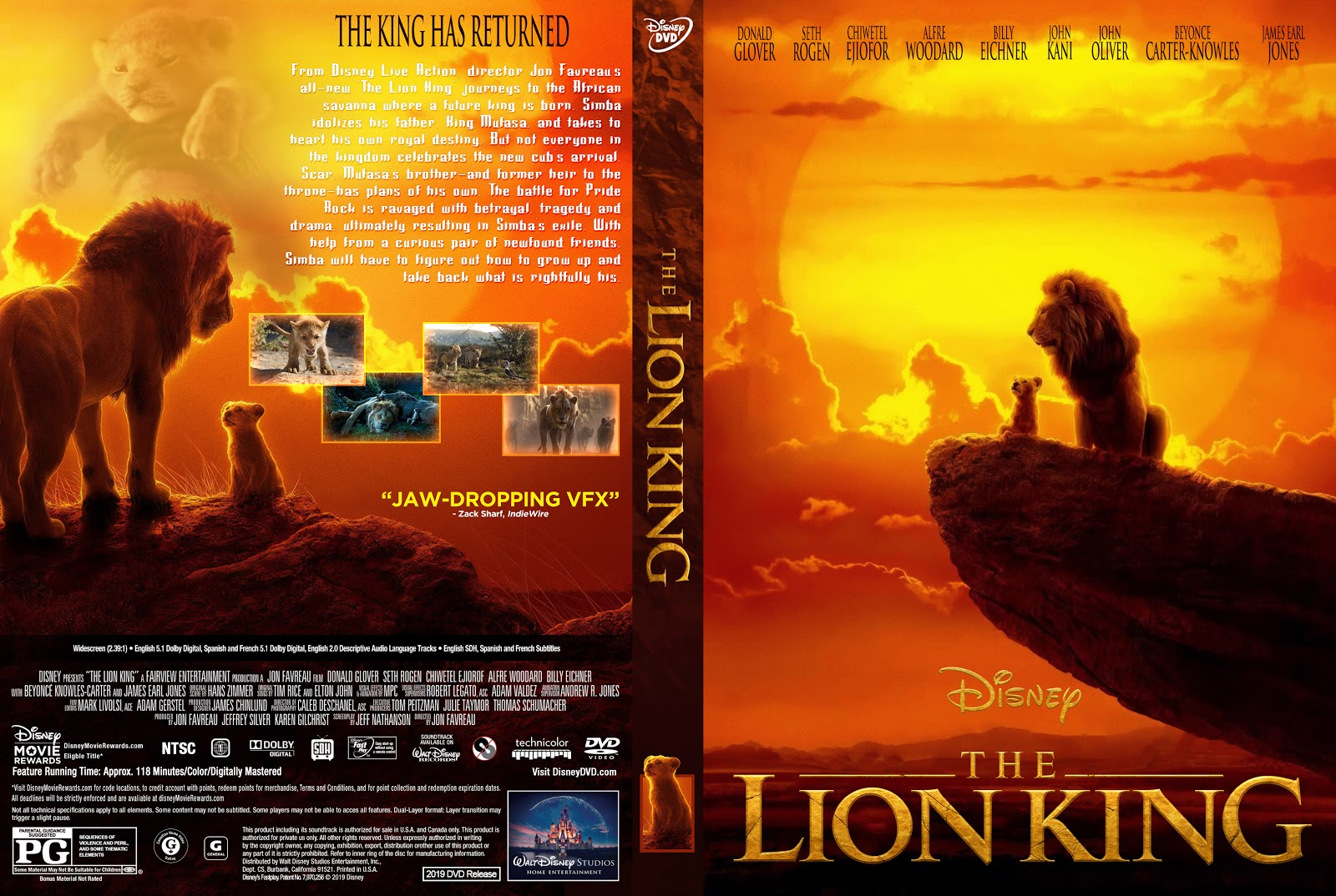 The Lion King 2019 Dvd Cover Cover Addict Free Dvd