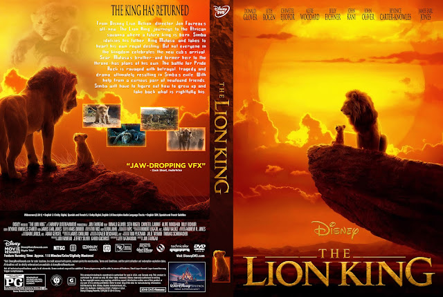 The Lion King (2019) DVD Cover