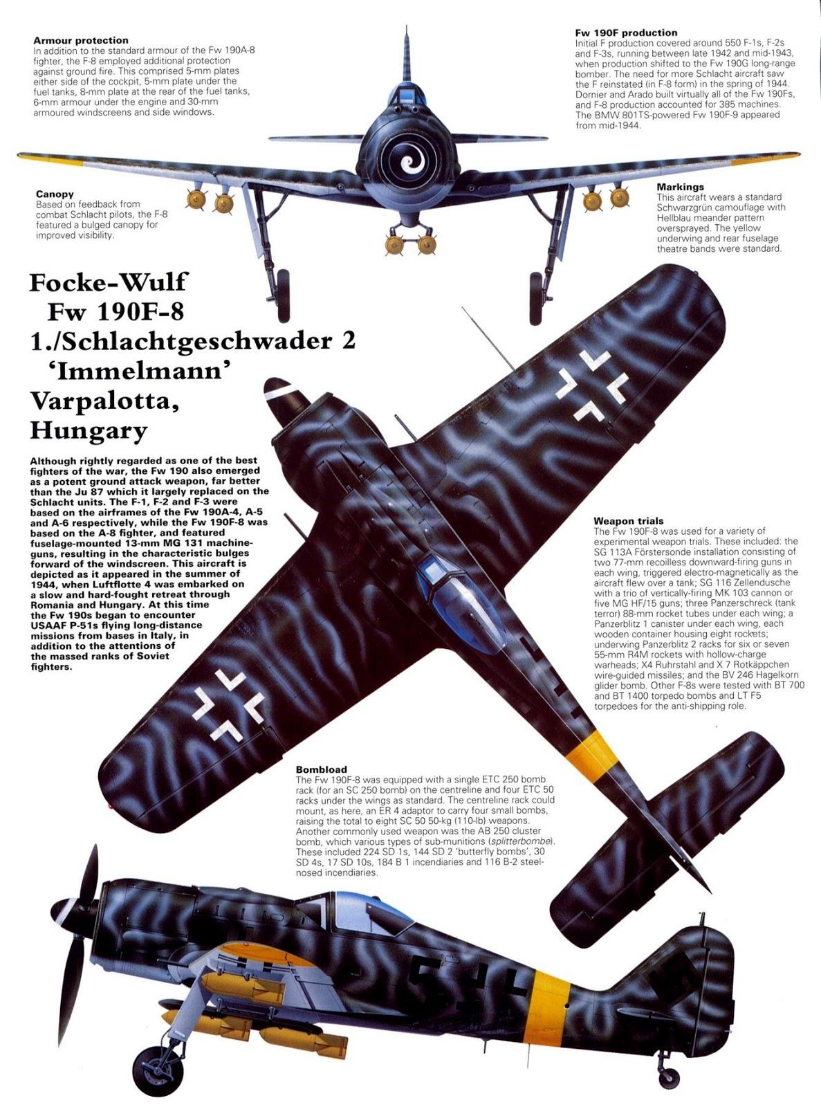 German Aircraft of WWII: Schlachtflieger