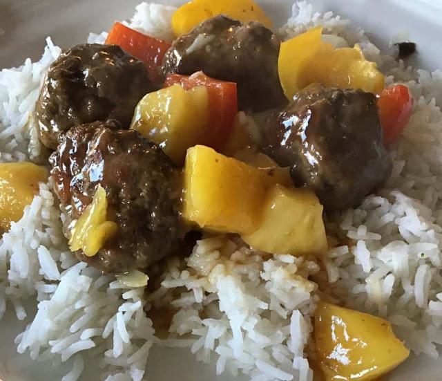 وصفة كرات لحم هاواي / Hawaiian Meatballs Recipe