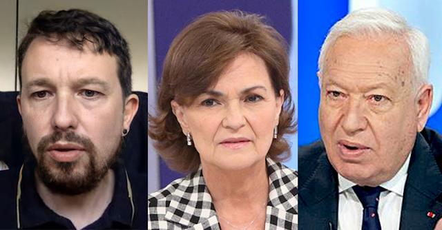 Iglesias, Calvo y Margallo