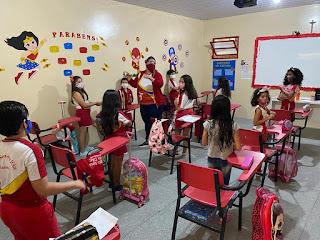 Colégio Santa Joana D'Arc retoma as atividades do ano letivo de 2021 com ensino híbrido.