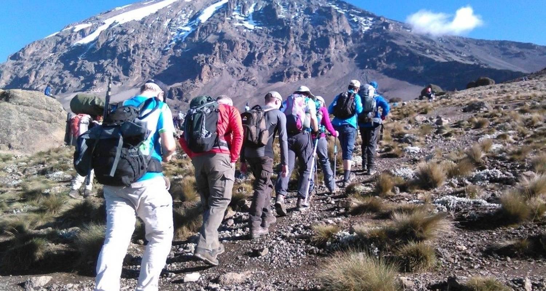Восхождение на Килиманджаро в Африке, восьмидневный маршрут