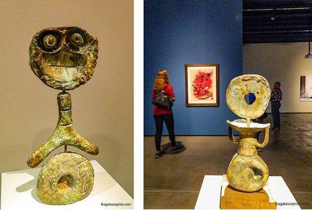 Exposição de Miró no Instituto Tomie Ohtake, São Paulo
