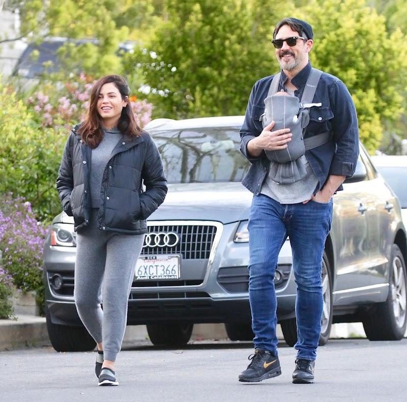 Jenna Dewan, Steve Kazee Outside In LA 27 MAr -2020
