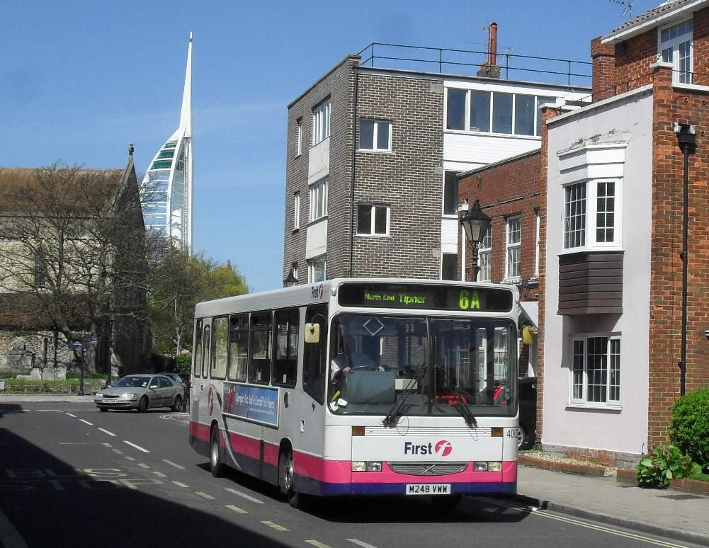 Southern England Bus Scene: A Saturday in Portsmouth