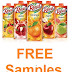 FREE Samples Of Real Fruit Power Juices