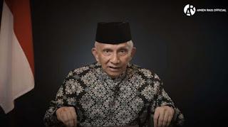 """Amien Rais Marah Ultimatum Jokowi, """"Semua itu Bermuara kepada Anda"""""""